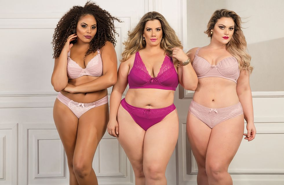 23 modelos de lingerie plus size que vão abraçar suas curvas