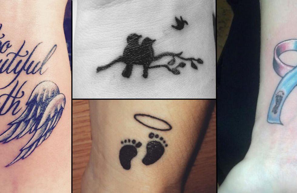 Tattoo de mamange, 60 émouvants tatouages de mamans de bébés disparus trop tôt