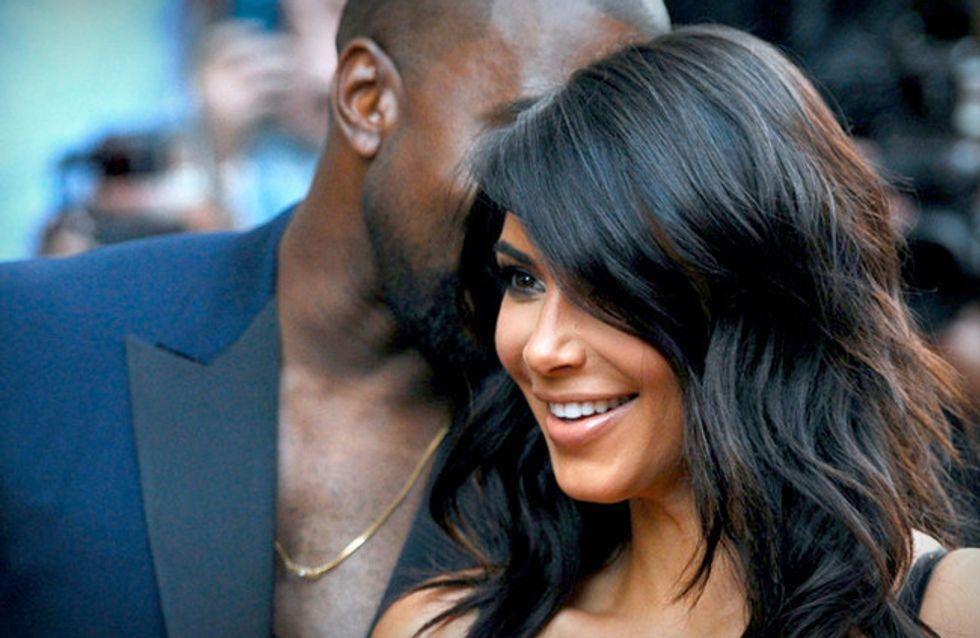Casais estilosos: Kim Kardashian e Kanye West