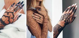 40 tatouages au henné qui vont parer notre peau pour l'été