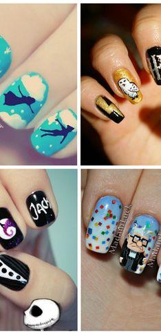 Das fofitas às mais bizarras: com vocês, nail arts inspiradas em filmes e séries