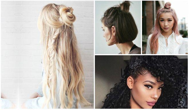 40 ideias de penteados semipresos
