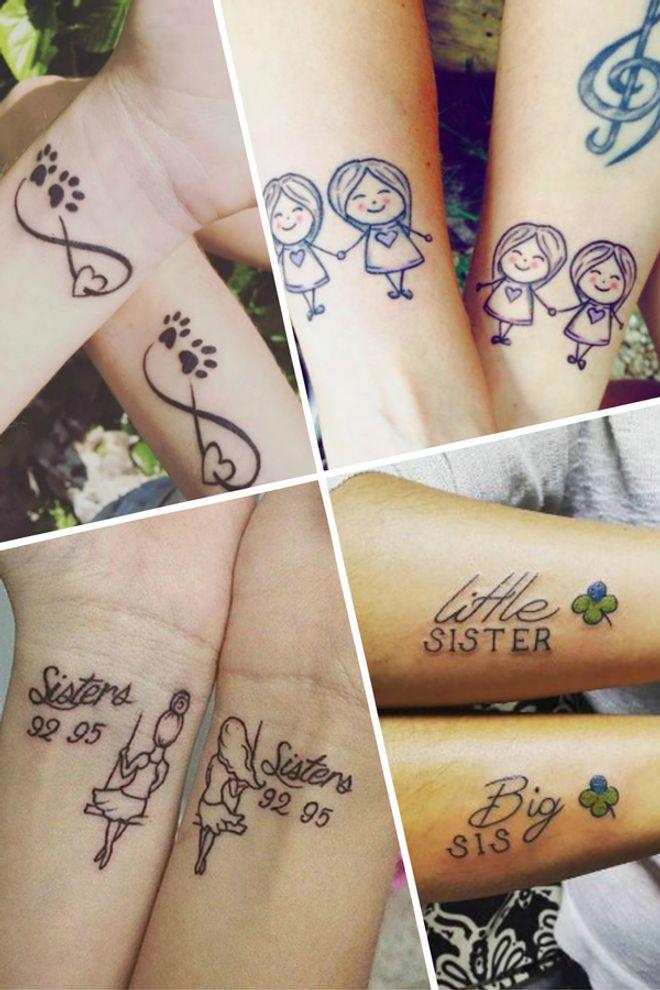 100 tatouages pour des soeurs