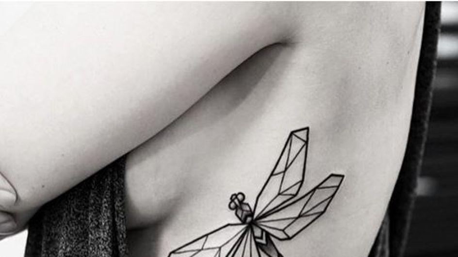 60 diseños para tatuarte en las costillas que adorarás