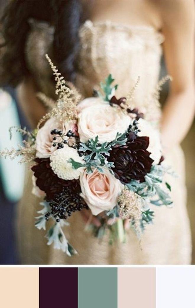 As mais belas paletas para casamentos