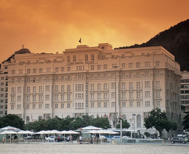 Fachada do Belmond Copacabana Palace