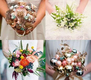 Para fazer o amor florescer: 80 lindas ideias de buquês-de-noiva
