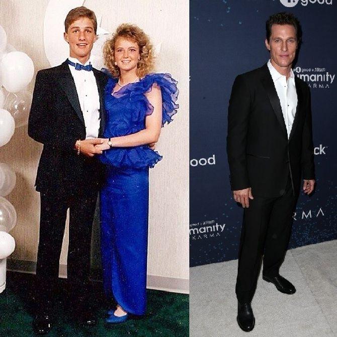 Le bal de promo de Matthew McConaughey