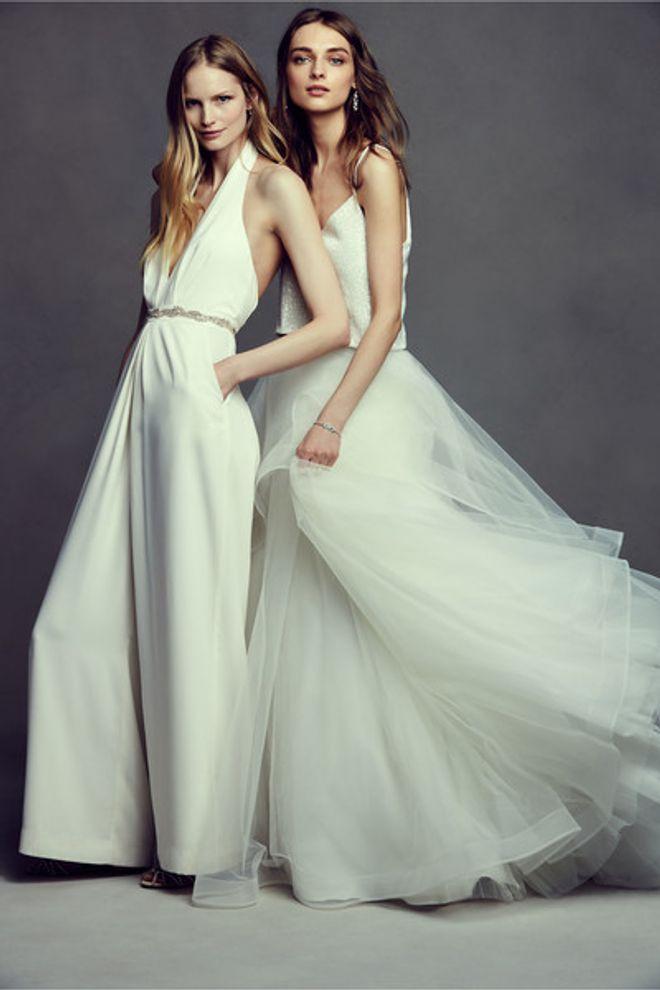 Alternativas elegantes aos vestidos de noiva