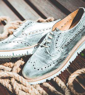 Metal é o novo preto: mais de 60 sapatos metalizados para se apaixonar JÁ!