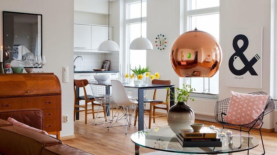 El cobre, el metal más preciado en decoración