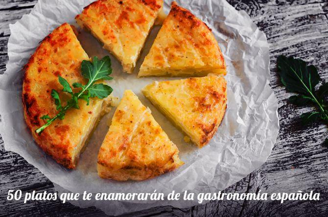 Recorrido por las recetas más típicas de España (por provincias)