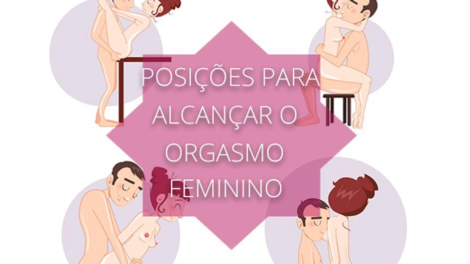 Posições para alcançar o orgasmo feminino