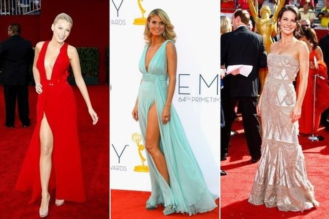 Os vestidos deslumbrantes que as famosas já usaram no Emmy Awards