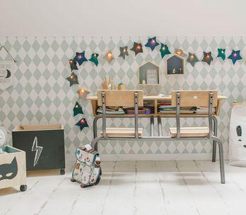 ¡Qué papelón! Ideas para decorar con papel pintado su habitación