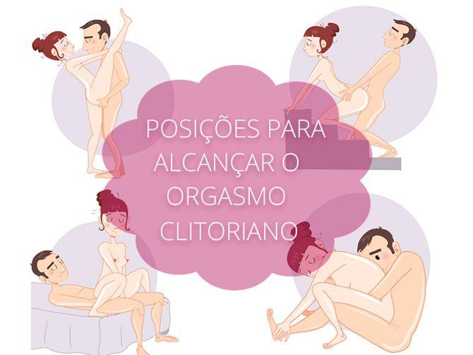 Posições para alcançar um orgasmo clitoriano