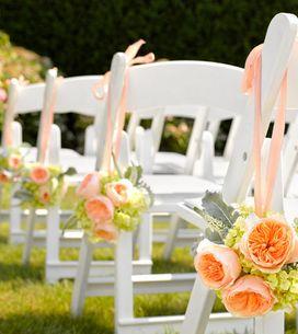 Flores no casamento: sugestões de cores e arranjos