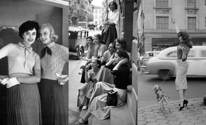 Street style de los años 50