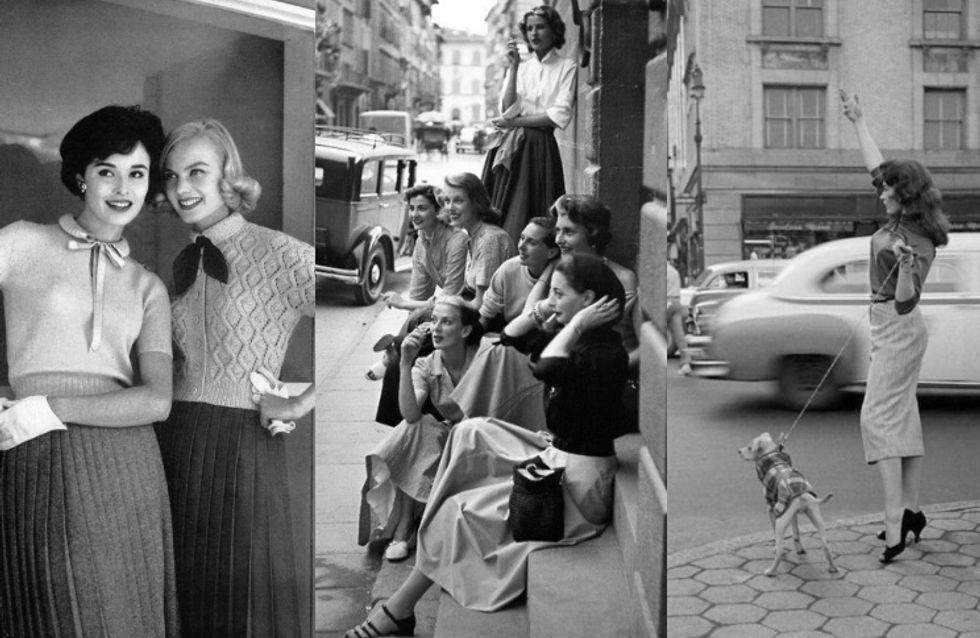 Descubre cómo era el street style en los años 50