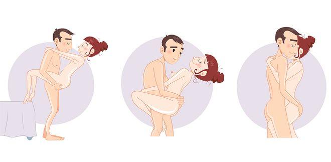 Posições do Kama Sutra para fazer sexo em pé
