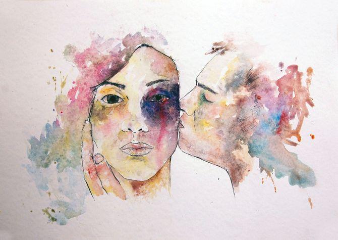 Ilustraciones contra la violencia de género