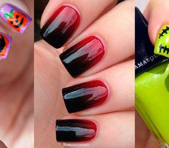 Ideias de unhas para o Halloween: + 40 fotos para inspirar