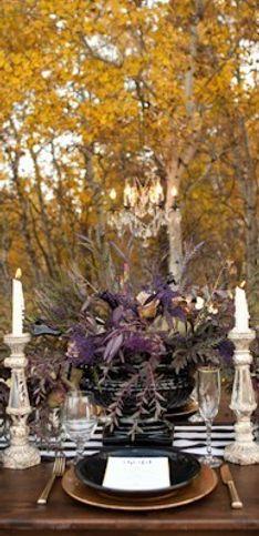 Ideias fabulosas para um casamento com inspiração Halloween