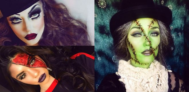Maquiagem de Halloween