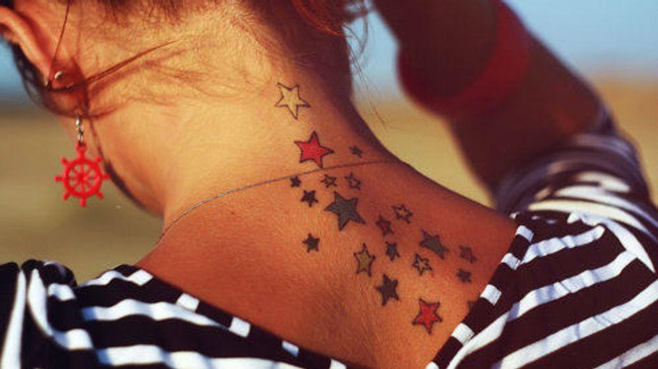 Constelação de tinta: 50 tatuagens de estrela para brilhar muito!