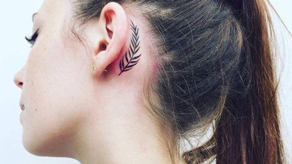 Von klein bis groß: Die coolsten Tattoomotive für das Ohr