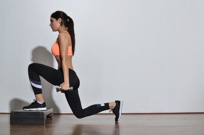 Exercícios para a  parte inferior do corpo