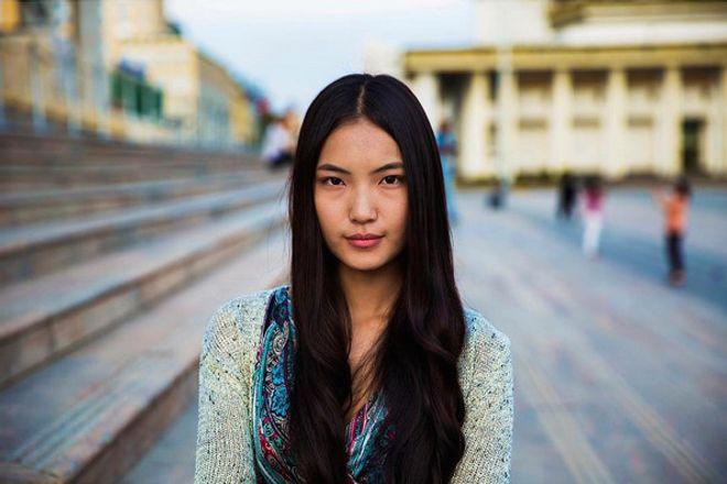 Photographiée à Ulaanbaatar en Mongolie.