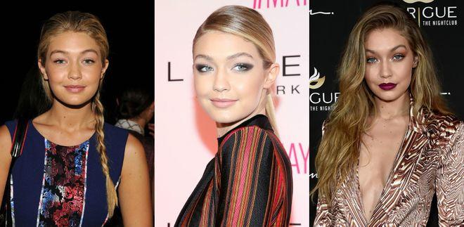 Os melhores hairstyles de Gigi Hadid