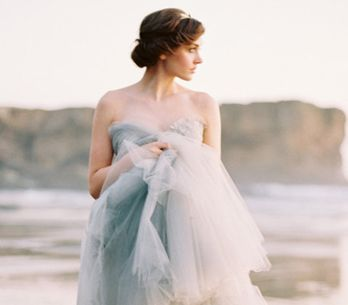 Vestidos de noiva com efeito ombré deslumbrantes