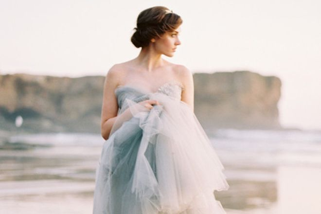 Vestidos de noiva com efeito