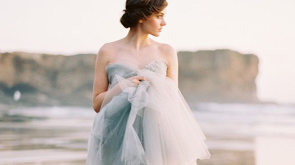 """Vestidos de noiva com efeito """"ombré"""" deslumbrantes"""