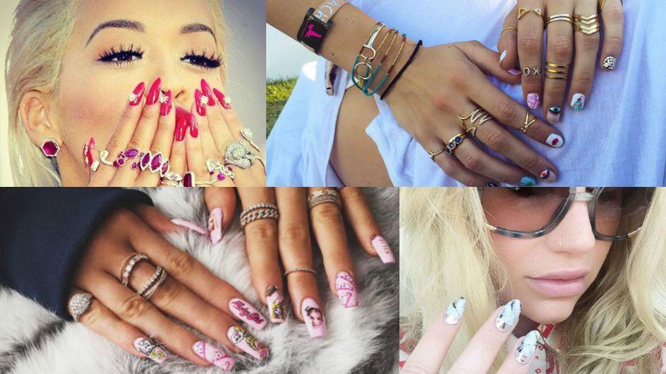 As unhas decoradas das celebridades em 23 fotos do Instagram