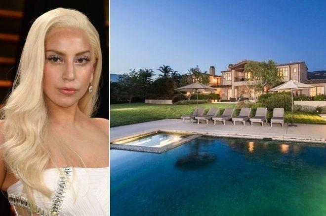 Gaga déménage à Malibu