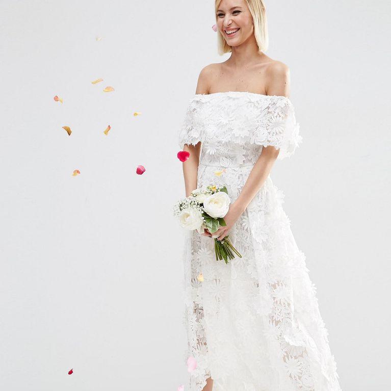 huge selection of aeeb3 edca9 Brautkleider unter 500 Euro: Die schönsten Modelle ...