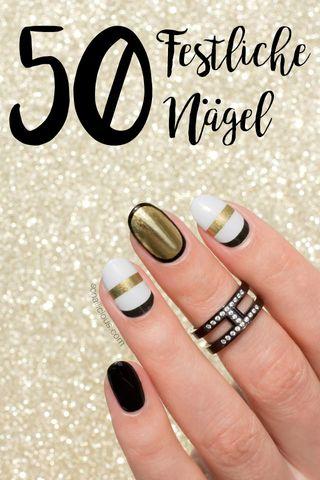 All I want for Christmas: 50 festliche Motive für deine Nägel