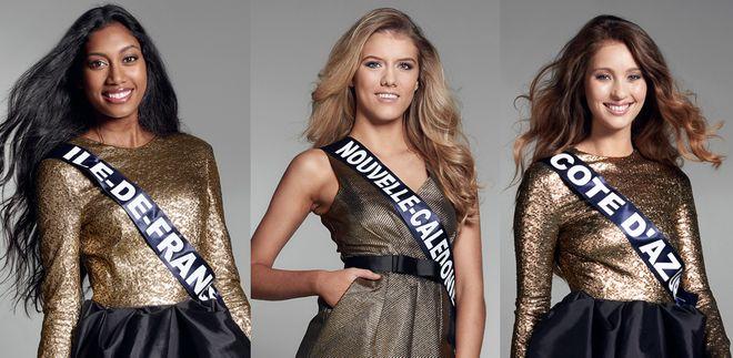 Les candidates de Miss France 2017