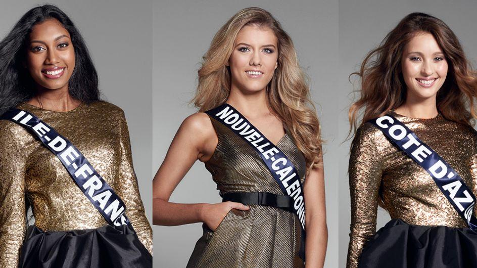 Qui sont les candidates de Miss France 2017 ?