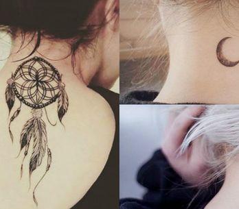 Das discretas às ousadas, 22 fotos de tatuagens na nuca