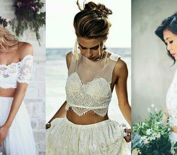 Noiva de cropped: +60 modelos apaixonantes