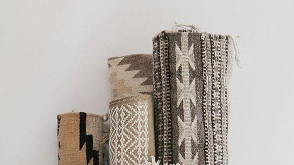 Kilim, estampa de pegada boho na decoração