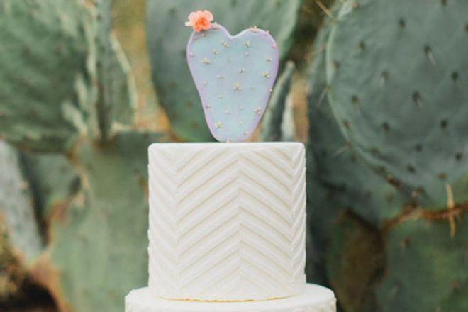Topos de bolo de casamento lindos e únicos