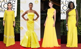 Amarelo no red carpet