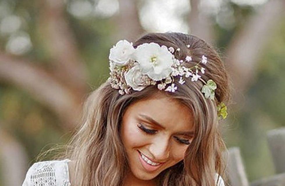 Penteados de noiva com ar boho chique