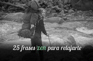 25 frases zen que acabarán con el estrés