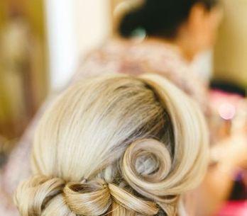 Penteados vintage para noivas